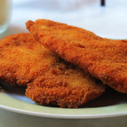 Hamburguesa de pollo (pechuga de pollo)